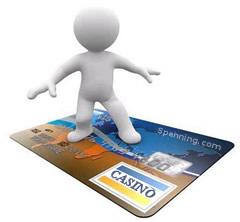 Insättningar och uttag i online casino